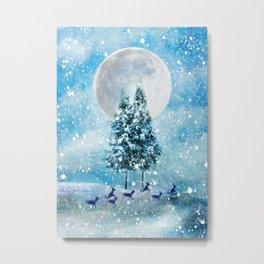 Winter Night 4 Metal Print