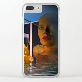 surrealistic showcase Clear iPhone Case