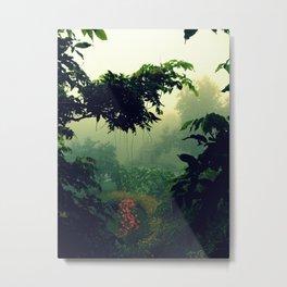Humid Metal Print