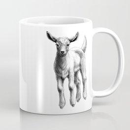 White Goat Baby SK133 Coffee Mug