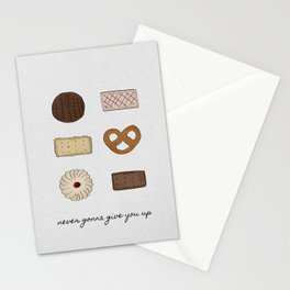 Never Gonna Give You Up, Kitchen Decor Stationery Cards