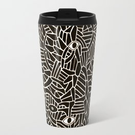 - in the summer garden : contemplation - Travel Mug