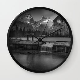 Schiederweiher Wall Clock