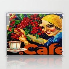 Vintage Brazil Coffee Ad Laptop & iPad Skin