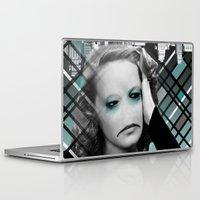 sad Laptop & iPad Skins featuring sad by Rosa Picnic