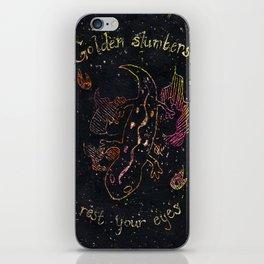 Salamander's Lullaby iPhone Skin