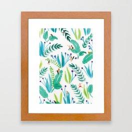 Toucan jungle Framed Art Print