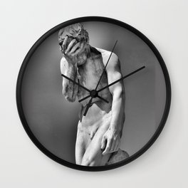 Face Palm Wall Clock