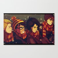 marauders Canvas Prints featuring The Marauders by VVIVAA