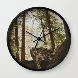 Fall Creek Falls Gorge Overlook Wall Clock