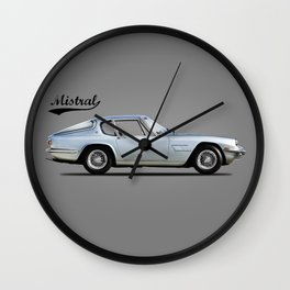 The Mistral Wall Clock