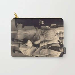 Caught off guard by a street photographer - the war years Carry-All Pouch