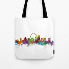 St Louis Missouri Skyline Tote Bag