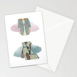 spring dresses Stationery Cards