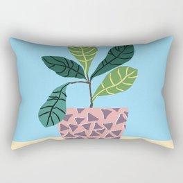Avocado Plant Rectangular Pillow