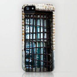 Barred & Boarded iPhone Case