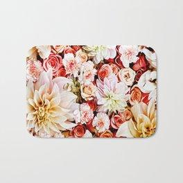 Floral Feature Bath Mat