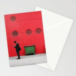 Red Hong Kong Stationery Cards