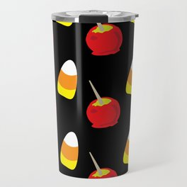 Candy Corn and Candy Apples Travel Mug