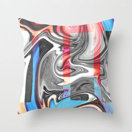 SNARL Throw Pillow