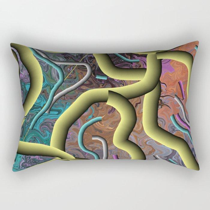 Bits & Peaces Rectangular Pillow
