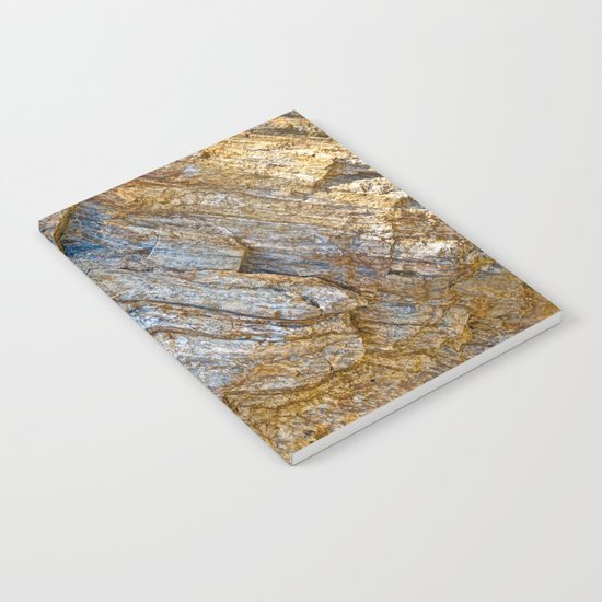 Stunning rock layers Notebook