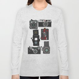 Cameras Long Sleeve T-shirt