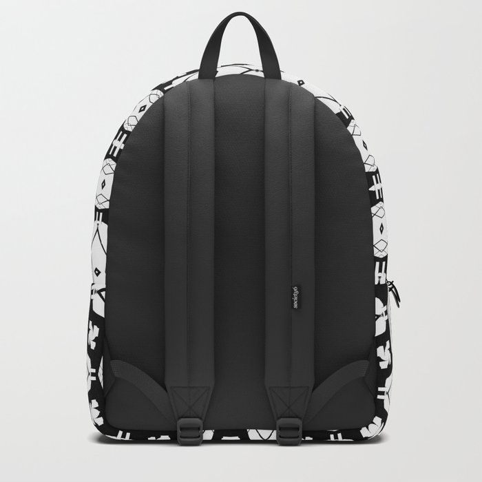 black weave Backpack