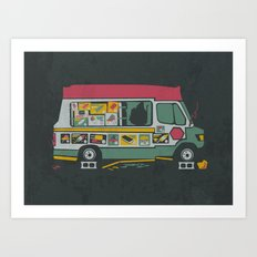 Disappointed Summer Art Print