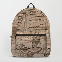 Horus and Temple of Edfu Backpack
