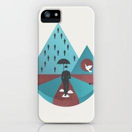 """""""Ceci n'est pas Magritte."""" iPhone Case"""