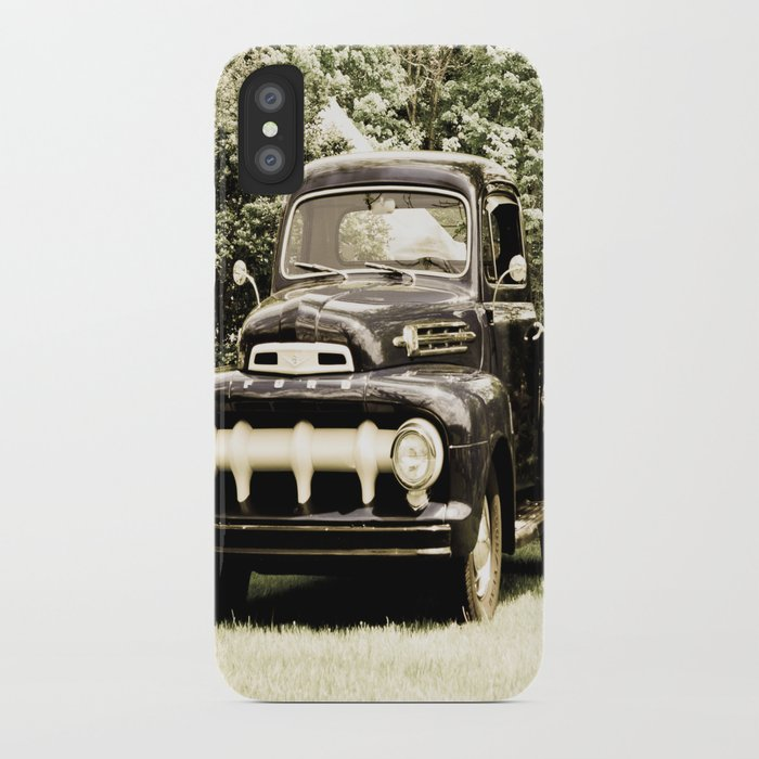 Ford in a Field iPhone Case