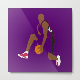 NBA Players | Vince Carter Dunk Metal Print