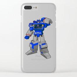 G1 Soundwave Clear iPhone Case