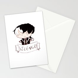 Silence! Stationery Cards
