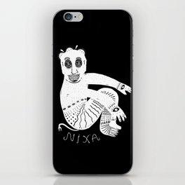 The White Demon iPhone Skin