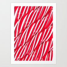 Sugar Surface Art Print
