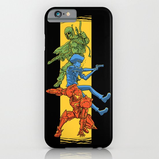 Universe Mighties Bounty Hunters iPhone & iPod Case
