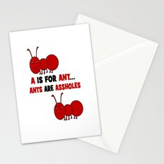 A is For Ant Stationery Cards