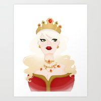 Queen Vic Art Print