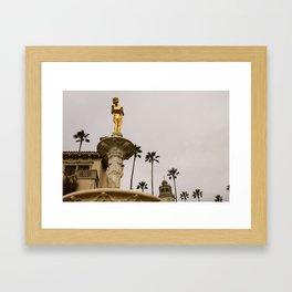 Hearst Castle Framed Art Print