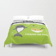 Friend or Pho? Duvet Cover