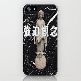 Black Marble Vaporwave iPhone Case