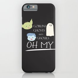 Goblins, Ghosts, and Ghouls 2 iPhone Case