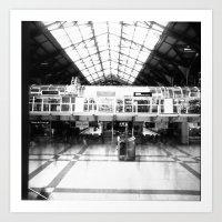 Liverpool Street Station Art Print