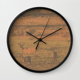 Mother Instincts Wall Clock