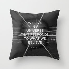 We Live In A Universe Quote - Society6 - Art - Luxury - Comforter - Bedding - Throw Pillows - Corbin Throw Pillow
