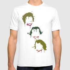 Three Jokers Mens Fitted Tee White SMALL