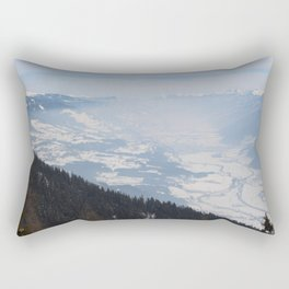 Wunderfull Snow Mountain(s) 1 Rectangular Pillow