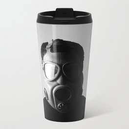 Czech M10M Gasmask Metal Travel Mug